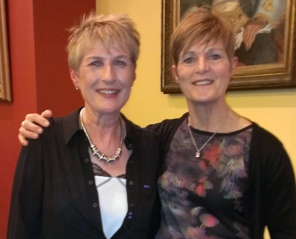 Cathy McCarthy and Marie Murphy